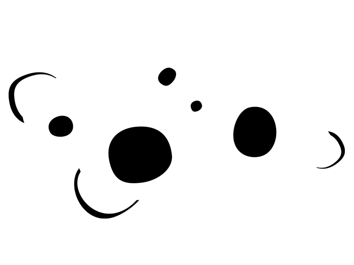 Ansicht Retroornament Circles als Wandtattoo