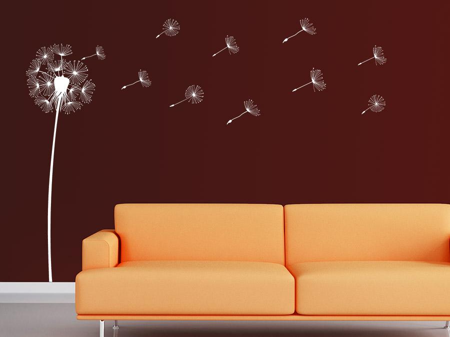 wandtattoo traumhafte pusteblume wandtattoo de. Black Bedroom Furniture Sets. Home Design Ideas