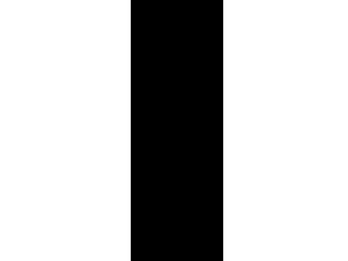 Ansicht Retro Banner 3D als Wandtattoo