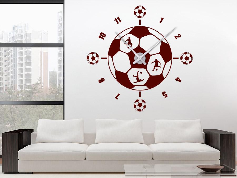 wandtattoos als gro e wanduhren moderne uhren mal anders. Black Bedroom Furniture Sets. Home Design Ideas