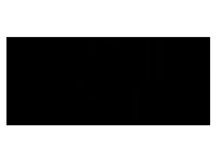 Ansicht Zweifarbiges Schmetterlingsornament als Wandtattoo