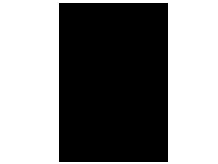 Ansicht Uhr Baumstamm mit Vogel als Wandtattoo