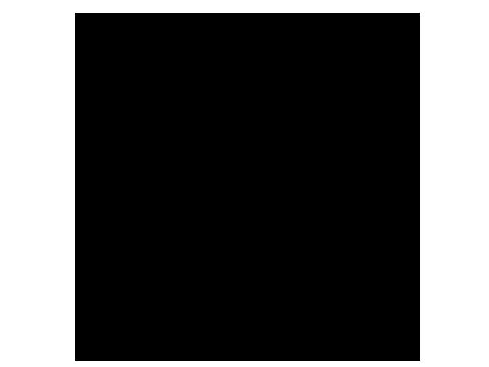 Ansicht Uhr Zahlenspiel als Wandtattoo