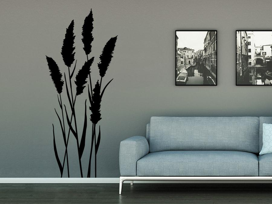 sch ne alpen deko mit wandtattoos hirsche berge und tannen wohntrend. Black Bedroom Furniture Sets. Home Design Ideas