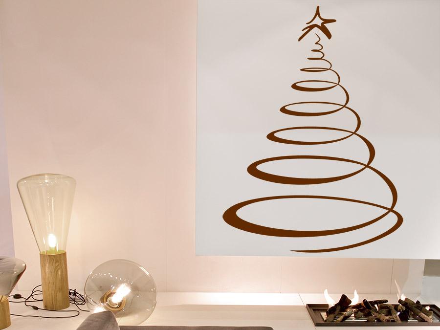 wandtattoo designer weihnachtsbaum von. Black Bedroom Furniture Sets. Home Design Ideas