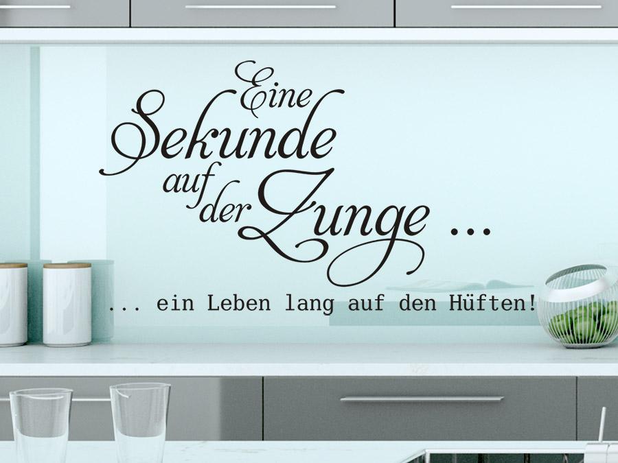 High Quality Wandtattoo Unsere Küche   Wandtattoos Zitate ...