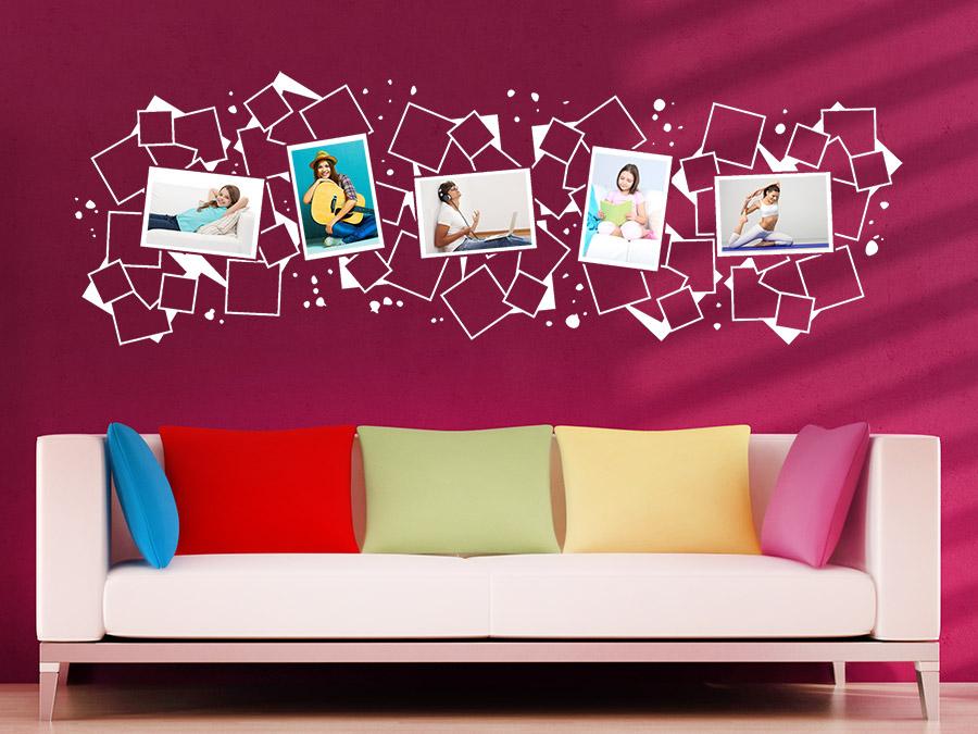 20coole ideen wandaufkleber design schlafzimmer hieroglyphen