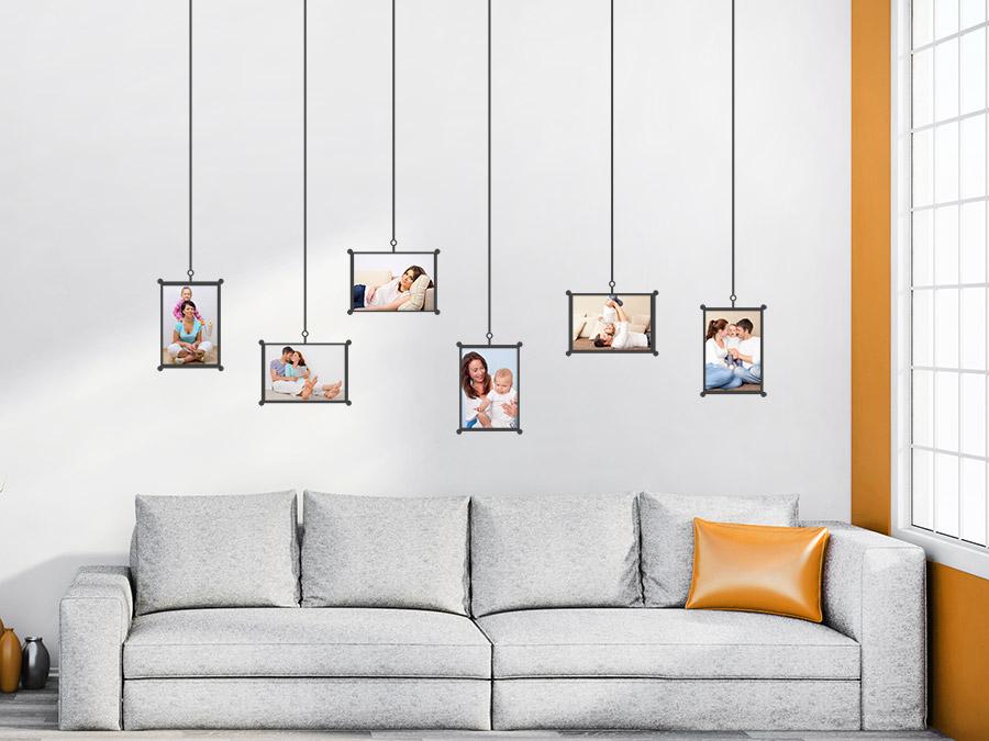 Fragen oder Ideen zur Fotogeschichte mit dem Wandtattoo-Rahmen?