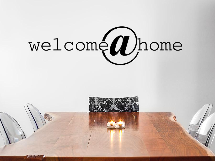 Wandtattoo welcome home wandtattoo de - Wandtattoo home ...