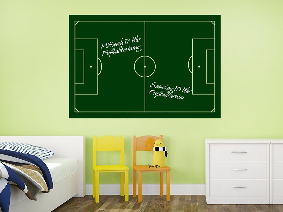 Tafelfolie Fußballfeld