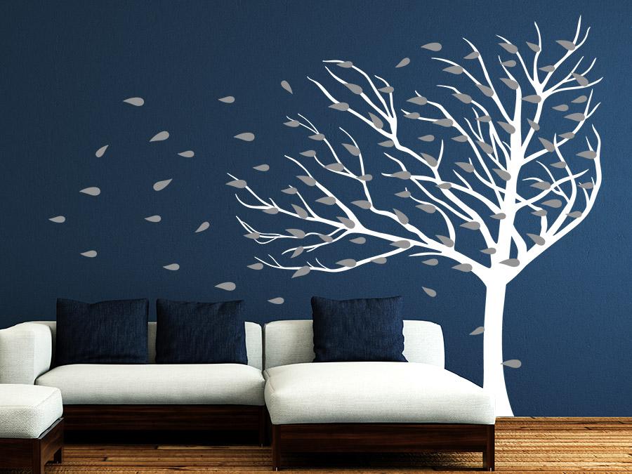 Wandtattoo Wohnzimmer Baum Ausmalen Kosten