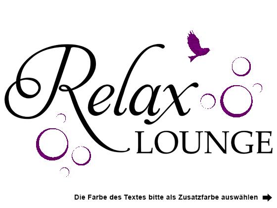 wandtattoo relax lounge wandtattoo de. Black Bedroom Furniture Sets. Home Design Ideas