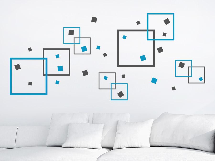 farbverlauf mit wandtattoos ideen und tipps. Black Bedroom Furniture Sets. Home Design Ideas