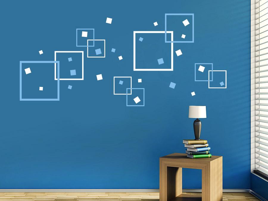 Wandgestaltung Quadrate Beispiele ~ Innenarchitektur und Möbel ...
