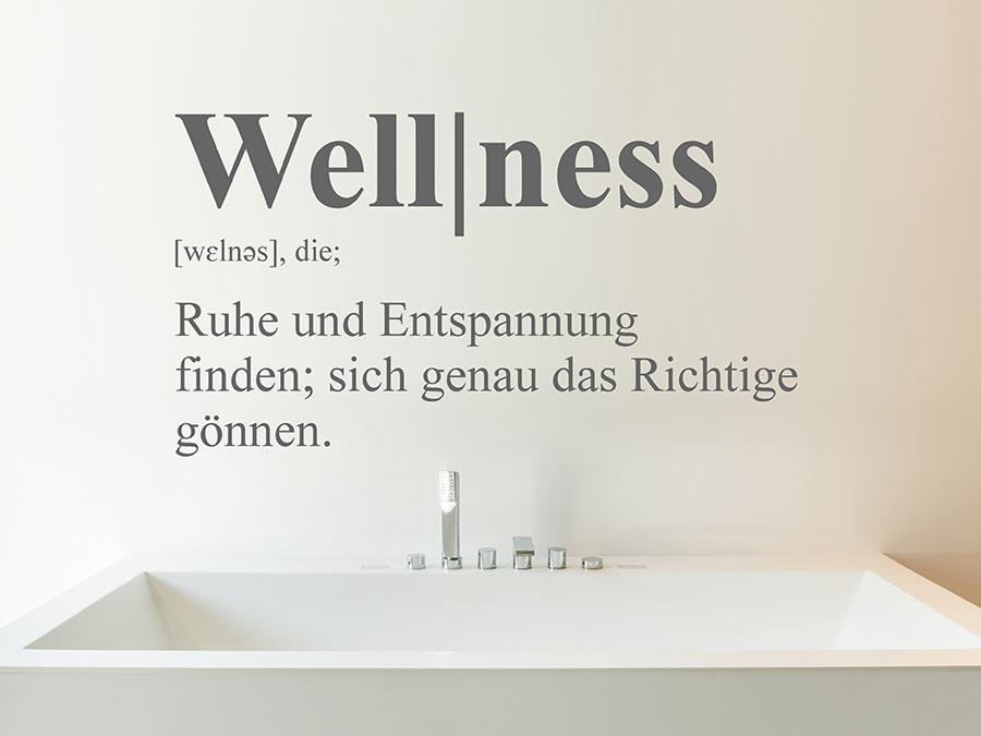 wandtattoo wellness definition entspannung wandtattoo de. Black Bedroom Furniture Sets. Home Design Ideas