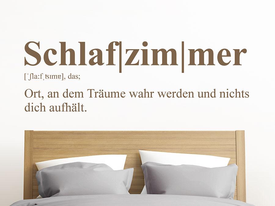 wandtattoo schlafzimmer definition 2 wandtattoo de. Black Bedroom Furniture Sets. Home Design Ideas