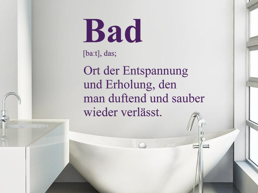 Wandtatoos Bad wandtattoo bad definition wellness erholung wandtattoo de