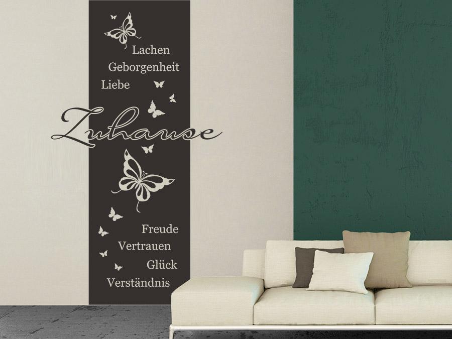 Wohnzimmer Zweifarbig Streichen Inspiration Design Familie Traumhaus
