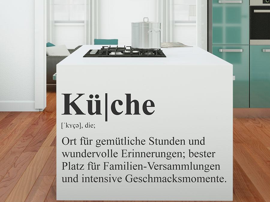 wandtattoo k che definition wandtattoo de. Black Bedroom Furniture Sets. Home Design Ideas