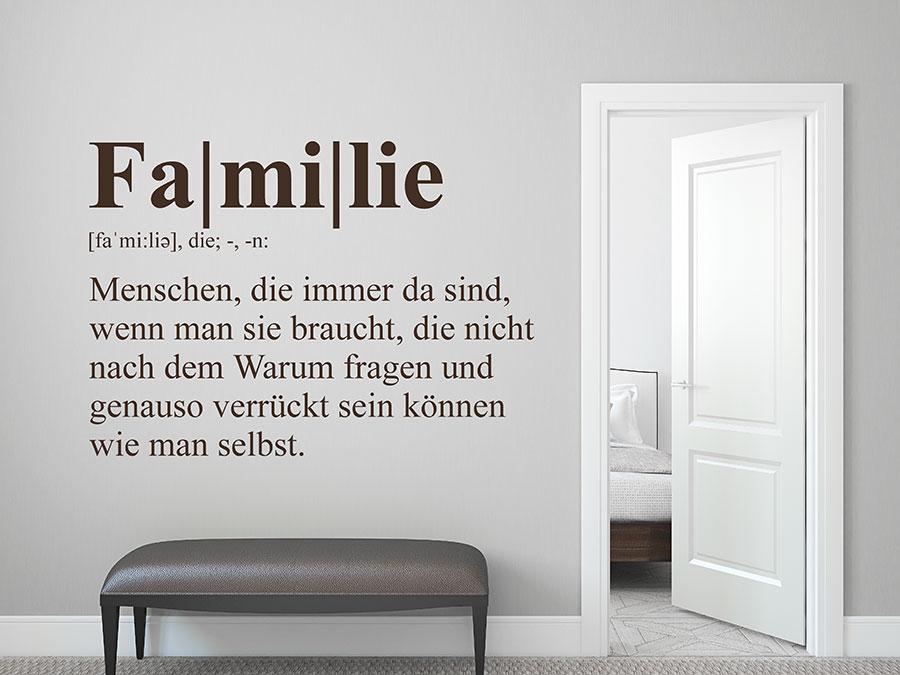 wandtattoos f r coole familien familienspr che und motive. Black Bedroom Furniture Sets. Home Design Ideas