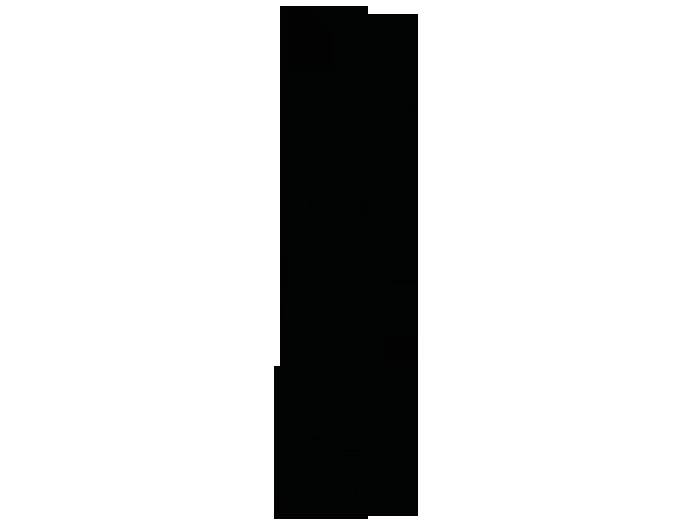 Ansicht Eleganter Schnörkel als Wandtattoo