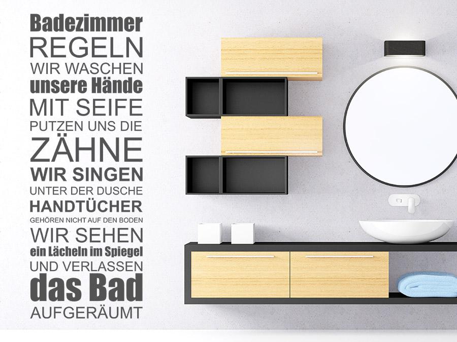 Badezimmer Wandtattoo mit perfekt stil für ihr haus design ideen