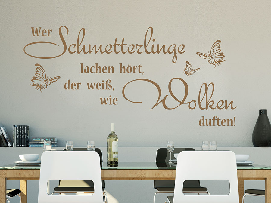 Stunning Wandtattoo Sprüche Küche Ideas - Home Design Ideas ...