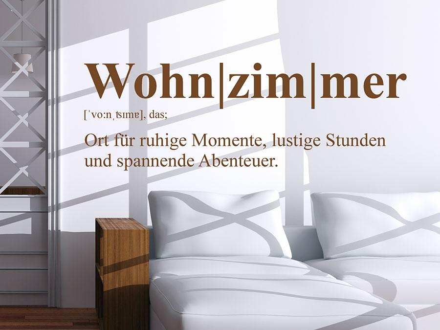 Wandtattoo Wohnzimmer Definition Wandtattoo Wohnzimmer Begriff über Der  Couch ...