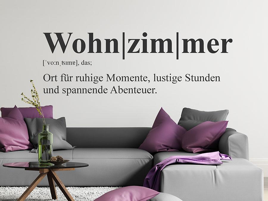 wandtattoo wohnzimmer definition | wandtattoo.de