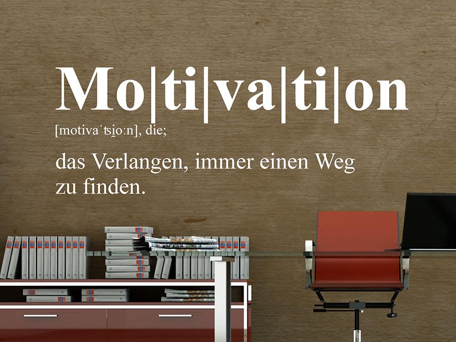 Wandtattoo Motivation Definition Wandtattoo De