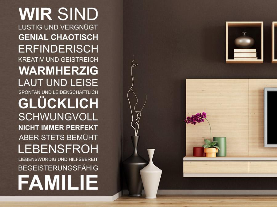 Wir Sind Eine Familie...