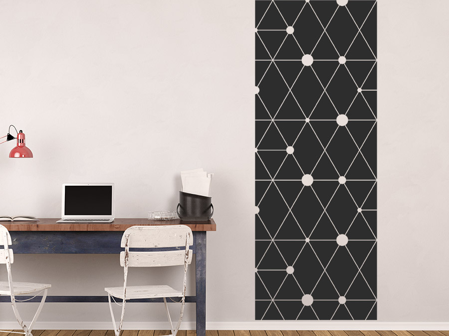 wandtattoo banner geometrische muster von. Black Bedroom Furniture Sets. Home Design Ideas