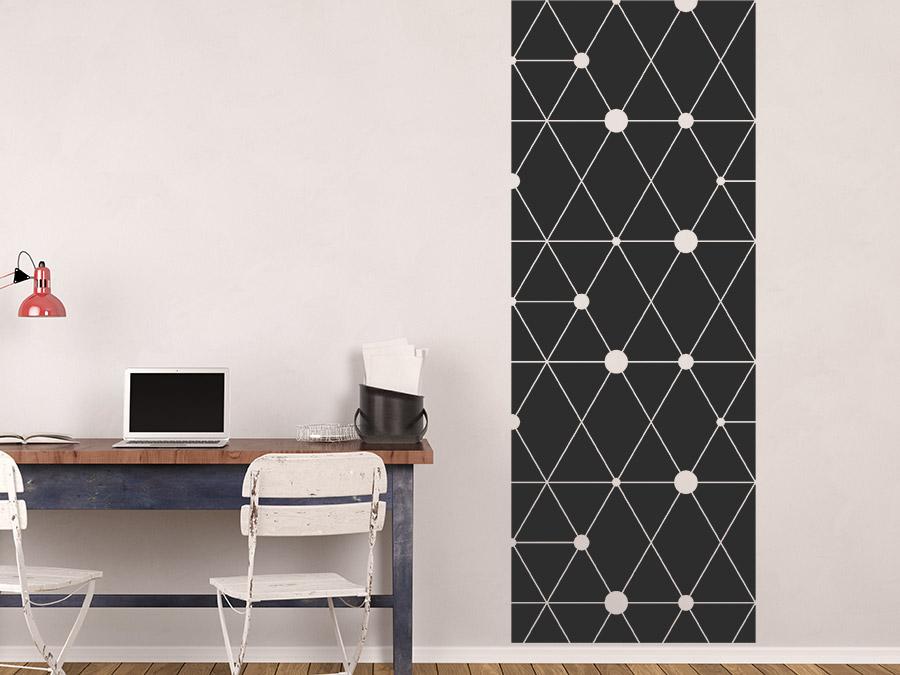 Wandbanner Geometrische Muster Wandtattoo | WANDTATTOO.DE