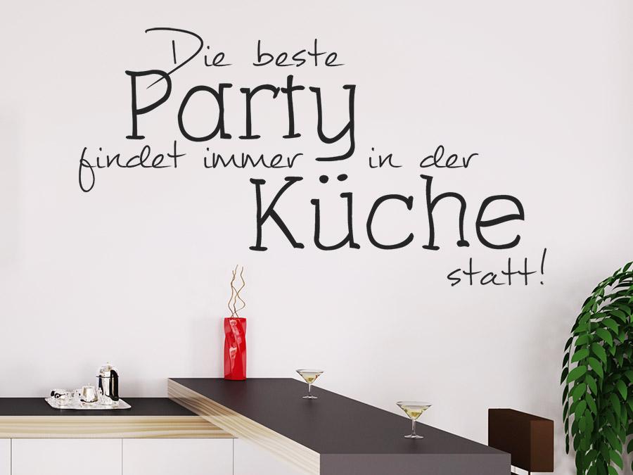 wandtattoo partyk che die beste party findet wandtattoo de. Black Bedroom Furniture Sets. Home Design Ideas