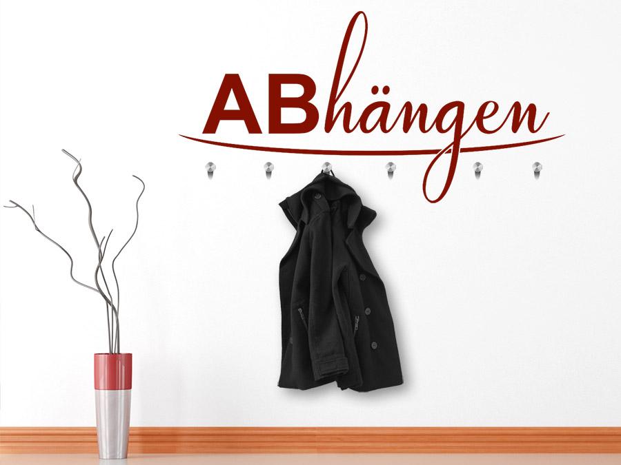 Garderobe Abhängen