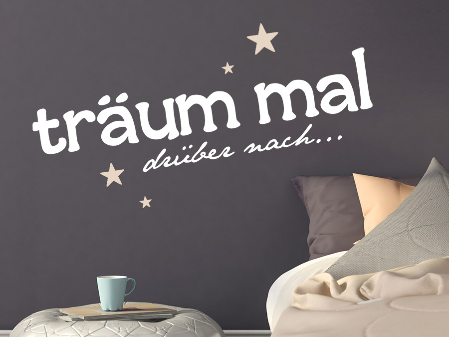 wandtattoo tr um mal dr ber nach wandtattoo de. Black Bedroom Furniture Sets. Home Design Ideas