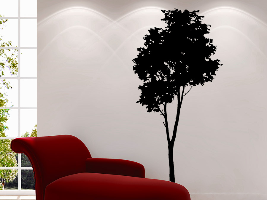 wandtattoo baum silhouette wandtattoo de. Black Bedroom Furniture Sets. Home Design Ideas