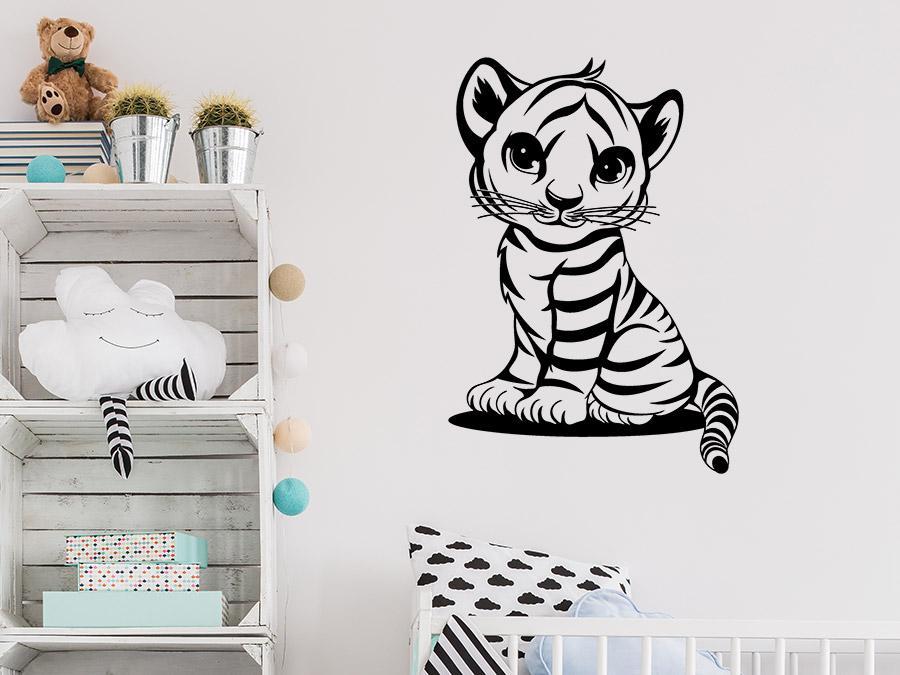 Wandtattoo Kleiner Tiger Wandtattoo De