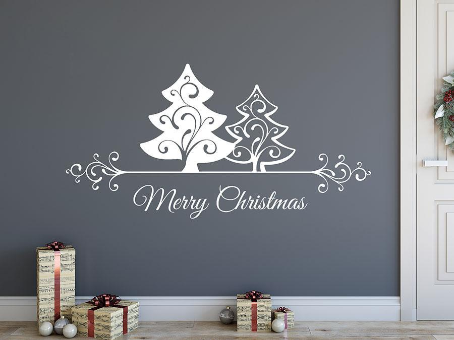 wandtattoos als weihnachtsdeko w nde und fenster. Black Bedroom Furniture Sets. Home Design Ideas