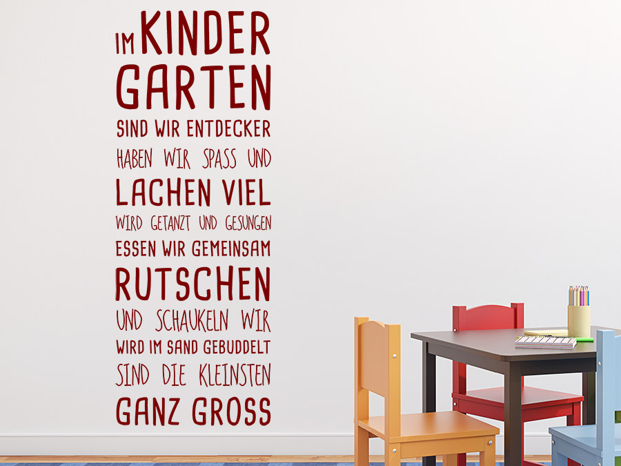 Wohnideen Aktie Kindergarten
