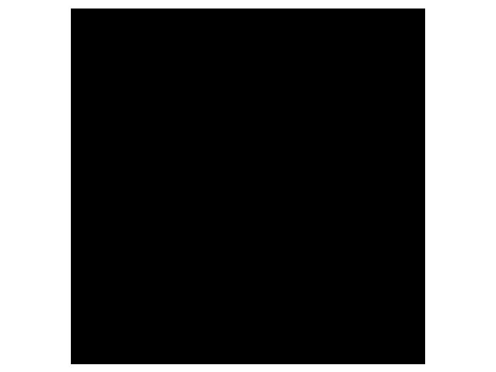 Ansicht Uhr Wirbel als Wandtattoo