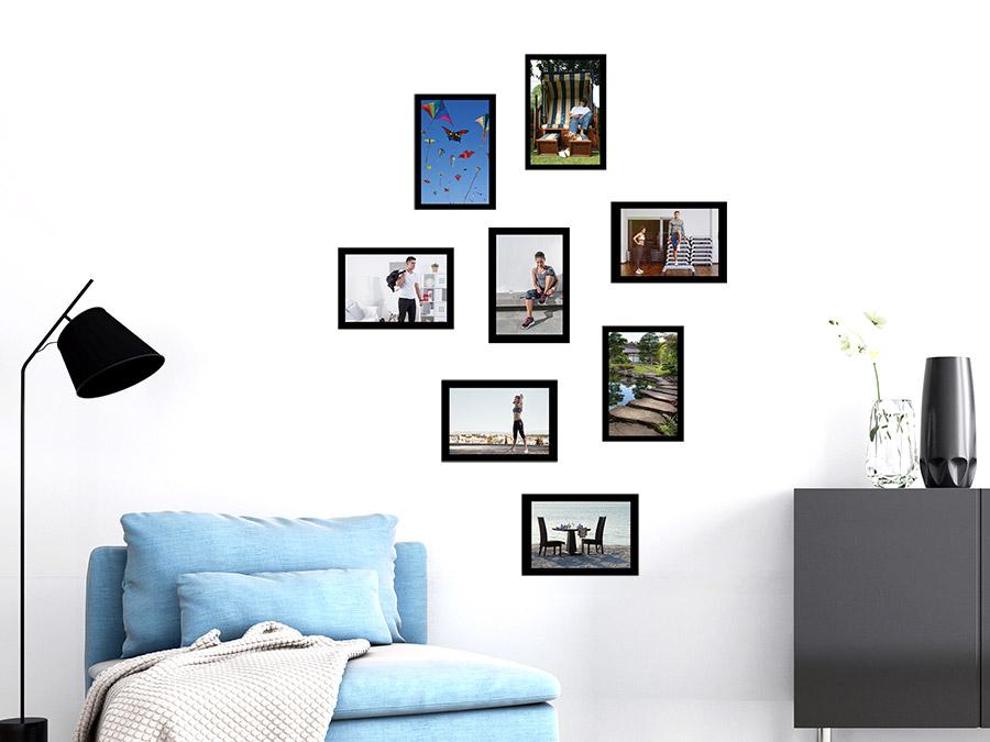 Wandtattoo Moderne Fotorahmen Set Wandtattoo Moderne Fotorahmen Set Im  Wohnzimmer ...