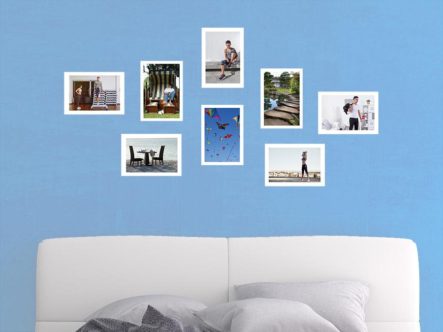 Wandtattoo Moderne Fotorahmen Set | WANDTATTOO.DE