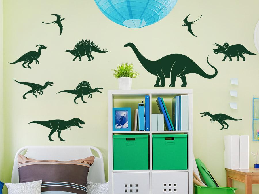 Wandtattoo dinosaurier reuniecollegenoetsele - Wandtattoo dinosaurier ...