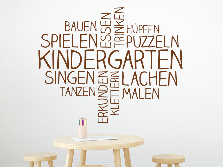 wandtattoo im kindergarten ideen deko tipps. Black Bedroom Furniture Sets. Home Design Ideas