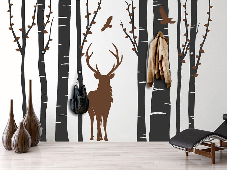 Garderobe Wald-Flair
