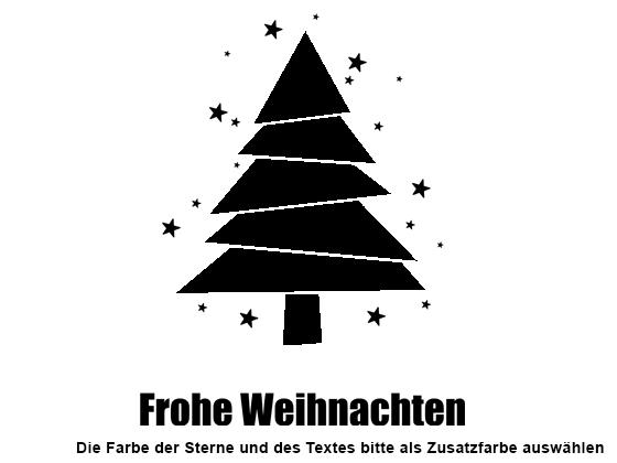 Wandtattoo Moderner Weihnachtsbaum | WANDTATTOO.DE