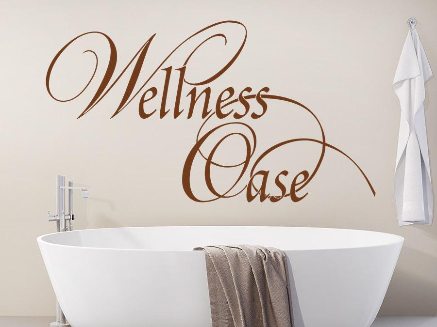 Wandtattoo wellness oase verschn rkelt wandtattoo de - Wandtattoo wellness ...