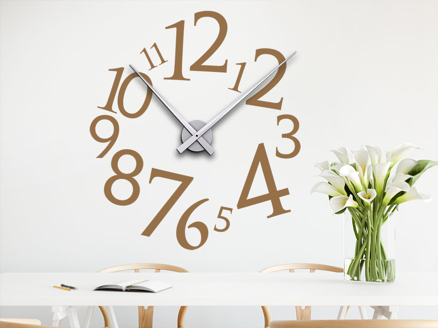 Uhr Modern wandtattoo uhr modern wandtattoo de