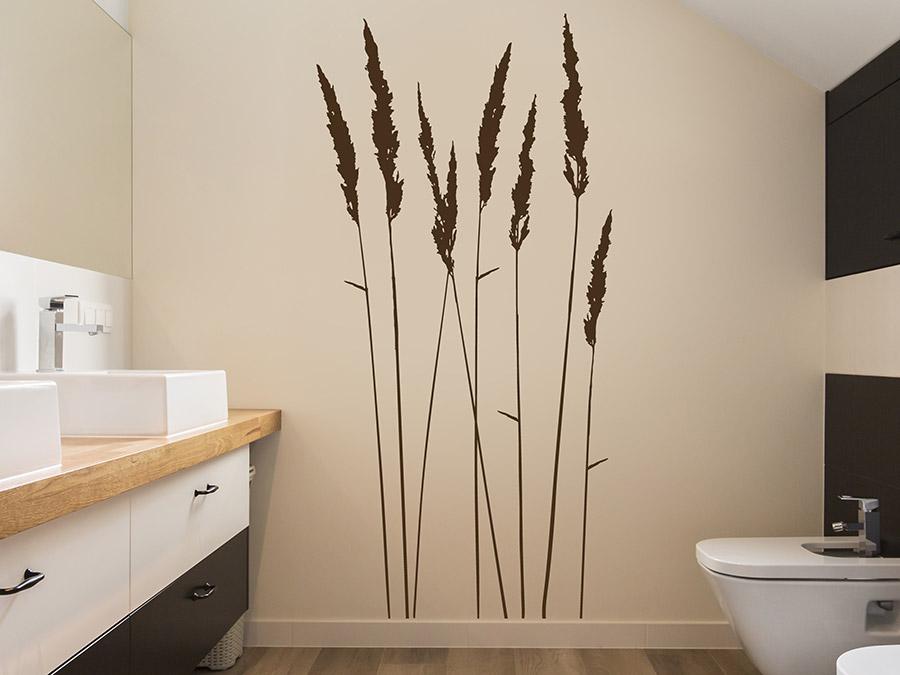 wandtattoo gr ser aus einzelnen ziergr sern. Black Bedroom Furniture Sets. Home Design Ideas